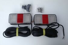 BOAT TRAILER SUBMERSIBLE LED LIGHTS - TROJAN - WITH 9M CABLE AND PLUG