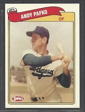 1989 Swell Baseball Greats - #74 - Andy Pafko - Brooklyn Dodgers