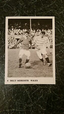 RARE FOOTBALL : JACKDAW Soccer trade card #6 BILLY MEREDITH Manchester Utd WALES