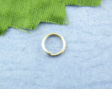 1200PCs Silver Tone Open Jump Ring 5mm dia SP0004