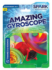 Amazing Gyroscope Thames & Kosmos Spark Science Experiment Kit Spinning Top
