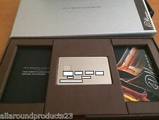 JP Morgan Palladium Card and Welcome Kit Rarer than Amex CENTURION
