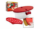 Red Telebrands Pasta Boat Microwave pasta cooker