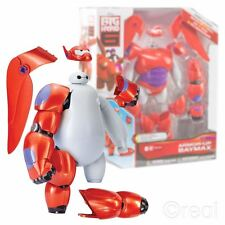 "NUOVO Hero 6 Armour Big-UP Baymax 8"" Action Figure 20 pezzi Disney Ufficiale"