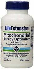 NEW!! Life Extension Mitochondrial Energy Optimizer with BioPQQ x 120 Caps