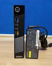 Lenovo M93P Tiny PC Intel Core i7-4765T 4th Gen 8GB 500GB SSHD HDD Win 8 Wi-Fi
