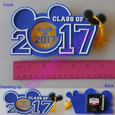 New Authentic Original Disney Mickey Graduation Class 2017 Picture Magnet Frame