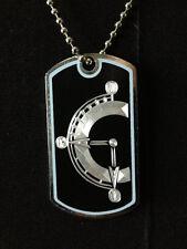Chrono Trigger Dog Tag Necklace Video Game Handmade, chrono trigger clock