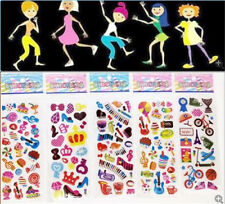 5pcs kids Embellishments crafts stickers  music party stickers lot gift