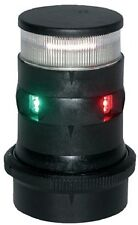 New Series 34 Led Tri-color Masthead/anchor Light aqua Signal 34706-7 Green/Red/