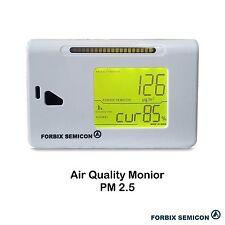 FORBIX SEMICON Air Quality Monitor PM 2.5 Meter FBXDQMG