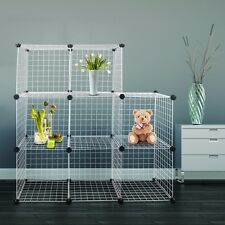 Hug Flight Mesh Cube Modular Storage Rabbit Outdoor Garden System Cage Wire Box