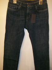 AUTHENTIC PRADA MILANO WOMEN STRAIGHT LOOSE FIT SOFT DEMIN WASHED JEANS SIZE 25
