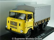 IFA W50L 1:43 SCALE MODEL LORRY 7167101 CLASSIC TRUCK IXO ATLAS YELLOW K8Q