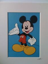 Disney - Mickey Mouse - Hand Drawn & Hand Painted Cel