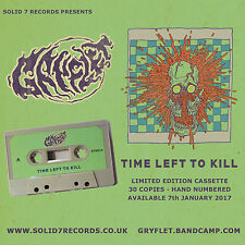 Gryflet - Time Left To Kill - Cassette 2017 Stoner Rock Kyuss Yawning Man