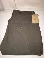 NEW WITH TAGS FILSON MADE IN USA WAX COTTON SIDEWINDER CARGO PANTS 28 X 34 $225