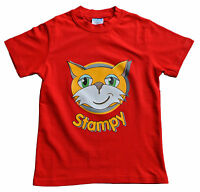 Boys Girls StampyLongNose Mr Stampy You Tube T Shirt RED FACE 7 TO 12 Years