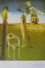 "SALVADOR DALI ""WOMAN WITH HEAD OF ROSES"" HAND NUMBERED PLATE SIGNED LITHOGRAPH"
