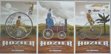 Series of Three Hozier Posters