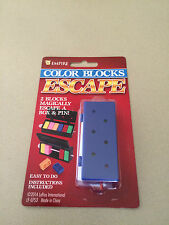 COLOR BLOCKS ESCAPE MAGIC TRICK ILLUSION GIMMICK NOVELTY PUZZLE TOY GAME KIDS