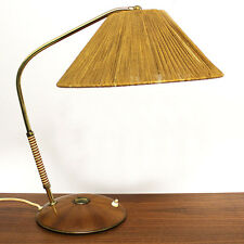 TEMDE TISCHLAMPE MESSING 50ER JAHRE MID CENTURY DESIGN BRASS DESK TABLE LAMP