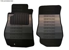 03-09 Bride Fabric Custom Fits Nissan 350Z Z33 Floor Mats Interior Carpets LHD