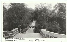 Scotland Postcard - Airdrie - Bridge - Monklands Glen   U816