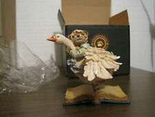 2002 THE BEARSTONE COLLECTION BOYDS BEARS AND FRIENDS OLDE MOTHER GOOSEBEARY