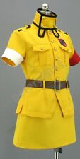 Custom-made Hellsing Seras Victoria Yellow Cosplay Costume