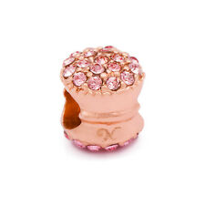 Novobeads Rose Gold Plated 7751 Rose & Pink Macaroon