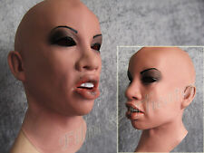 ANGELINA MASK - Realistic Female Latex, Frauenmaske, TRANSGENDER CROSSDRESSER