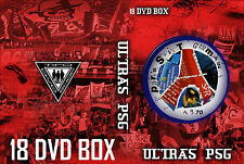 18 DVD BOX ULTRAS PSG   || PARIS || CASUALS ||ULTRA || HOOLIGANS ||TIFO ||