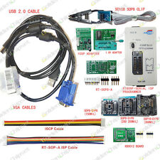 RT809F EPROM FLASH VGA ISP USB Programmer for KB9012QF Motherboard with Clip