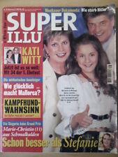 SUPER ILLU 28 6.7.2000 Marinne&Michael Kati Witt Marie Christin Wolfgang Lippert