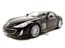 PEUGEOT 907 BLACK 1:18 DIECAST MODEL CAR BY BBURAGO 12075