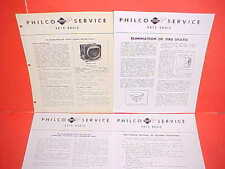 1946 PACKARD CLIPPER TOURING CLUB SEDAN TAXI PHILCO AM RADIO SERVICE SHOP MANUAL