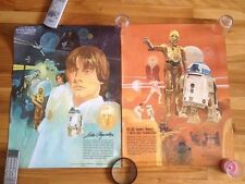 Star Wars Original  Poster Series # 1-4,1977 Coca Cola And Burger Chef Systems