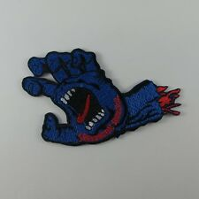 EMBROIDERED SEW IRON ON PATCH HANDS THE DEVIL BIKER MOTOCYCLE T-SHIRT JACKET CAP