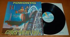 Toronto - Girls Night Out - 1983 UK Vinyl LP - Gimmick Cover / 3D Glasses