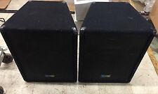 Yorkville Y115 Performance Series Reinforcement Speakers PAIR