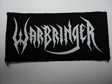 WARBRINGER     WOVEN  PATCH