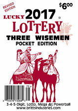 2017 Lucky Lottery Three Wisemen Pocket Edition - Lottery Book - Lottery