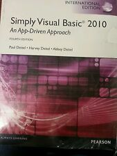Simply Visual Basic 2010 : An App-Driven Approach by Abbey Deitel, Harvey...