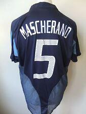 ARGENTINA MASCHERANO #5 ADIDAS 2003 AWAY SHIRT - LARGE