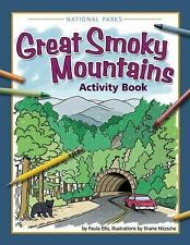 Color and Learn: Great Smoky Mountains Activity Book by Paula Ellis (2015,...
