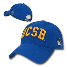 UC Santa Barbara Gauchos UCSB Cotton Polo Style NCAA Low Crown Baseball Cap Hat