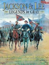 Jackson & Lee: Legends in Gray: The Paintings of Mort Kunstler (Rutled-ExLibrary