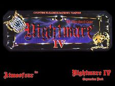 Nightmare IV Video Board Game Video Tape VCR VHS DVD Elizabeth Bathory