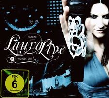 "LAURA PAUSINI ""LAURA- LIVE WORLD TOUR 09"" CD + DVD NEU"
